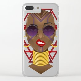 Move, Or You Will Be Moved Clear iPhone Case