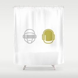 Daft Punk Shower Curtain