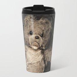 trapped teddy bear Travel Mug