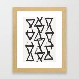 Interact Framed Art Print