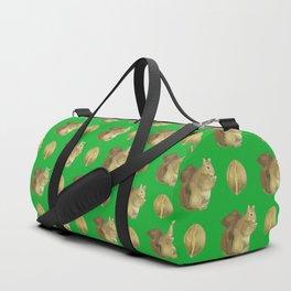 SQUIRREL PATTERN Duffle Bag