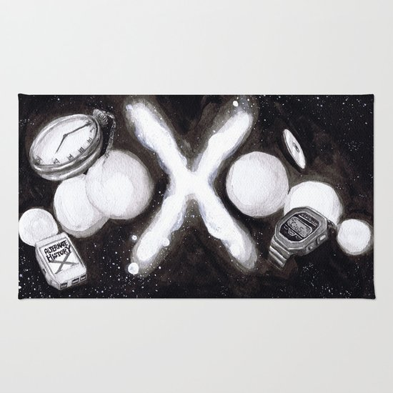 """Alternate History X"" by Cap Blackard Rug"