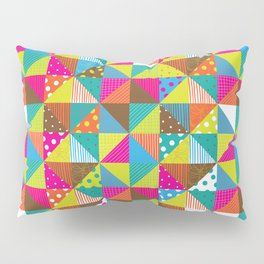 Crazy Squares Pillow Sham