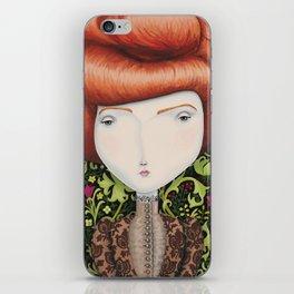 Lady Amelia iPhone Skin
