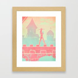 Dragon Age: Cole Framed Art Print