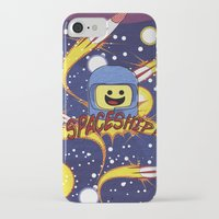 spaceship iPhone & iPod Cases featuring Spaceship!  by Brieana