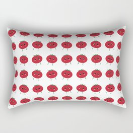 Perfect From My Head Tomatoes Rectangular Pillow