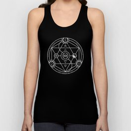 Protection Gratitude Happiness Unisex Tank Top