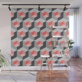 Kinetic art cubes Wall Mural