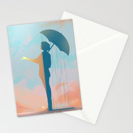 Is it really raining? Stationery Cards