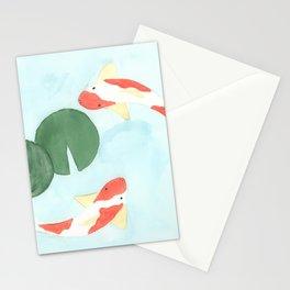 The Koi Pond Stationery Cards