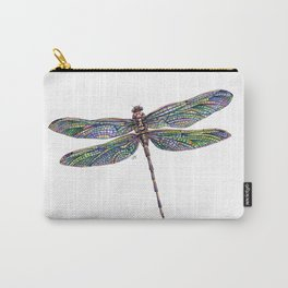 Colorful Dragonfly Drawing Carry-All Pouch