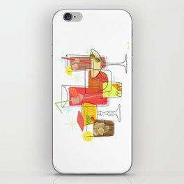 Swanky Summer Coolers iPhone Skin