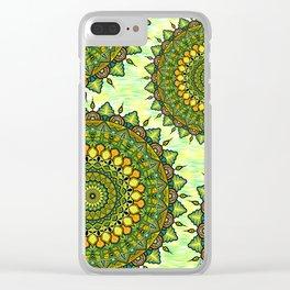 Mandala Natura Clear iPhone Case