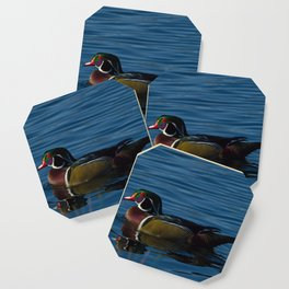 Colorful Wood Duck Coaster
