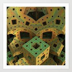 Puzzle Box Art Print