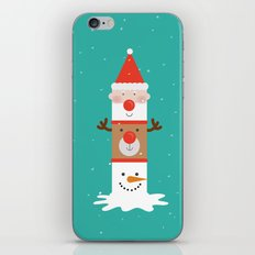 Day 11/25 Advent - Holiday Totem iPhone & iPod Skin