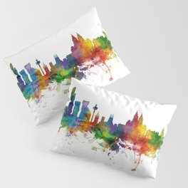 Liverpool England Skyline Pillow Sham