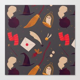 Magic Pattern Canvas Print