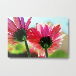 Floral Companions Metal Print