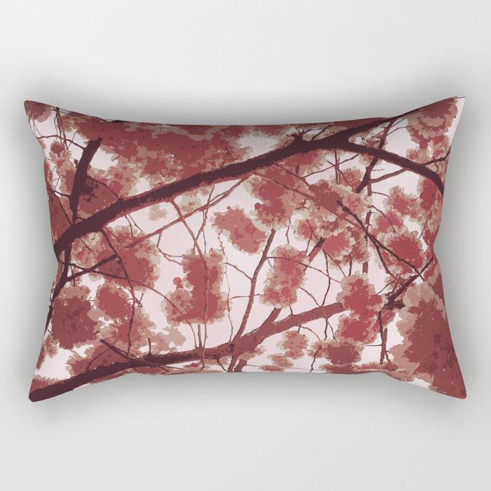 April in Paris Rectangular Pillow