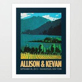 Vineyard Print Art Print