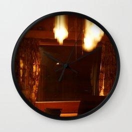 Shutter Flares Wall Clock