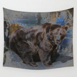 Solar Bear Wall Tapestry