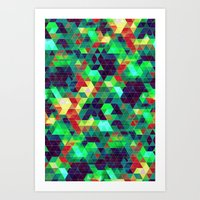 science Art Prints featuring Science by KRArtwork