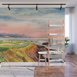Pebble Beach Golf Course 7th Hole Wall Mural