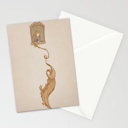 Rapunzel. Stationery Cards