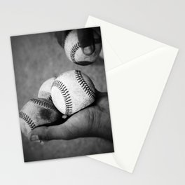 Batting Practice Stationery Cards