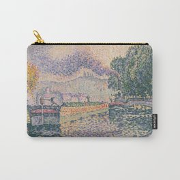 The Tugboat, Canal in Samois Carry-All Pouch