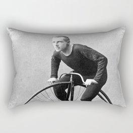 Velocipede racer Rectangular Pillow