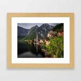 Hallstatt Framed Art Print
