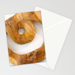 Circle of Wood  Stationery Cards