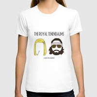 tenenbaums T-shirts featuring The Royal Tenenbaums by gokce inan