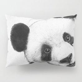peekaboo panda Pillow Sham