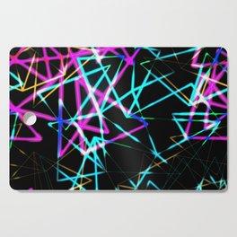Neon lights Cutting Board