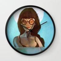 daria Wall Clocks featuring Daria by gapinska