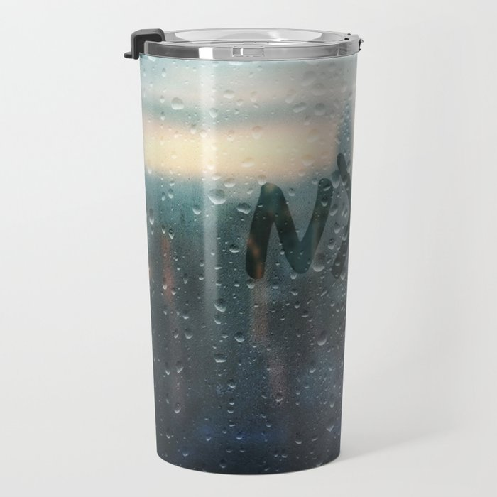 Rainy Day in NYC Travel Mug