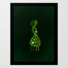 Twist of love Art Print