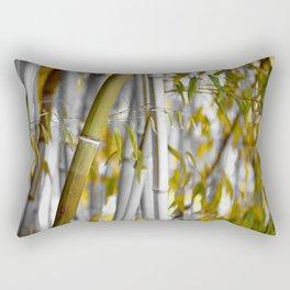 Bambuswald abstrakt Rectangular Pillow