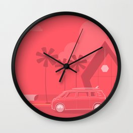 Van Life Nº 3 Wall Clock