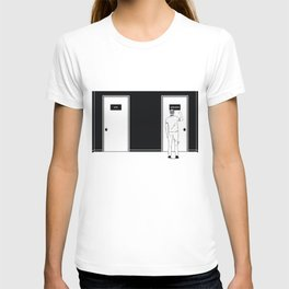 Knocking at the door T-shirt