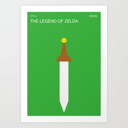 Poster Nintendo The Legend of Zelda Art Print