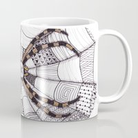 spider Mugs featuring Spider by Laura Maxwell