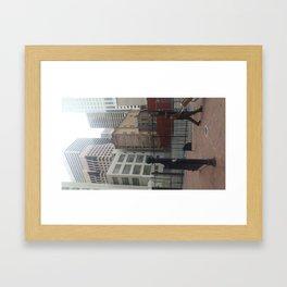San francisco graft Framed Art Print