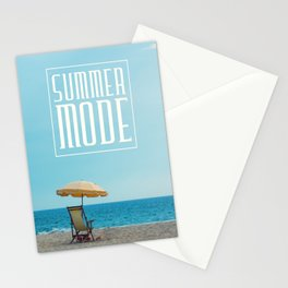 Summer mode Stationery Cards