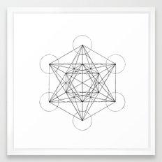 Sacred Geometry Print 3 Framed Art Print
